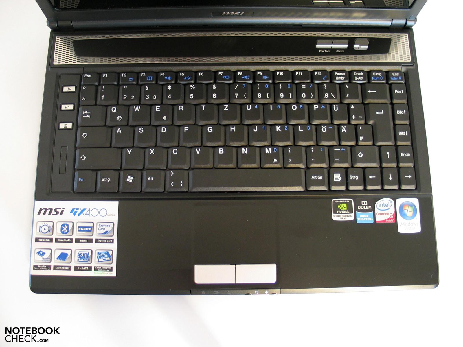 MSI GX400 Intel WLAN Driver for Mac