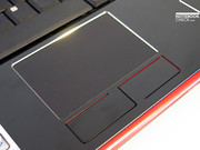 The touchpad isn't just good to look at, it's also extremely comfortable to use.