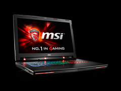 MSI shows off the GT72S with Tobii eye-tracking technology