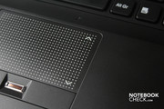 The touchpad has a scroll bar, which can only be talked into doing its job with difficulty.