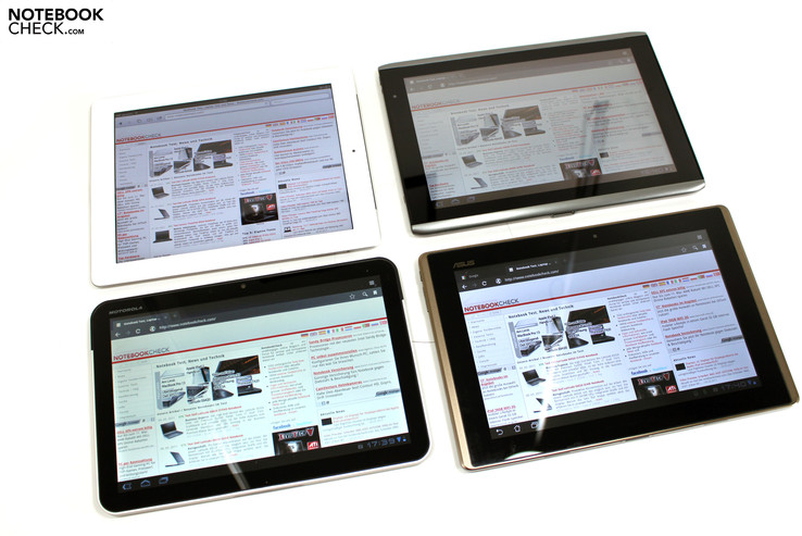4:3 or 16:10 – which is the better tablet format?