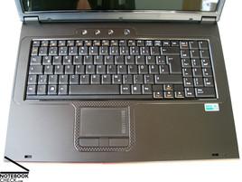 mySN XMG7 (Clevo M570TU) Keyboard