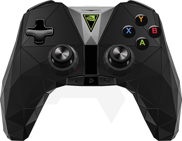 The new controller is more ergonomic, yet sports a distinctively angular look. (Source: Android Police)