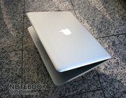The new case has many design elements of the MacBook Air ...