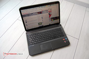 Optically, the HP Pavilion g7-2051sg is appealing. Open ...