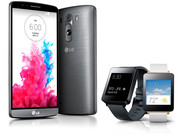 In Review: LG G3 and LG G Watch. Test devices provided by LG Germany.