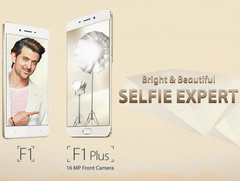 Oppo unveils F1s smartphone with 16 MP front-facing camera