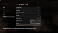 Advanced Settings II