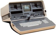 The Osborne 1, released in 1981, was the world's first portable microcomputer. (Source: OldComputers.net)
