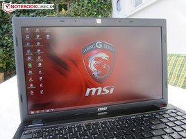 Outdoor use - MSI GE60H-i765M2811B
