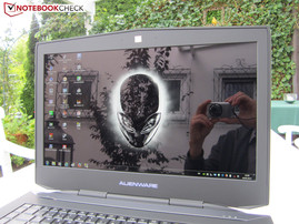 Outdoor use Alienware 18