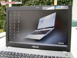 Asus N56VB-S4050H: Outdoors