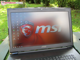 MSI GT72 outdoors