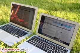 ...allow you to use the laptop outside despite the glossy screen.
