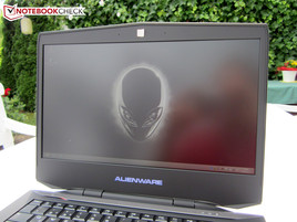 Alienware 14 outdoors