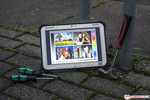 In Review: Panasonic Toughpad FZ-G1. Review unit courtesy of: Panasonic Germany