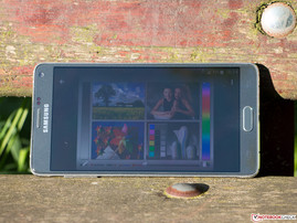Samsung Galaxy Note 4 (SM-N910F) Smartphone Review - NotebookCheck