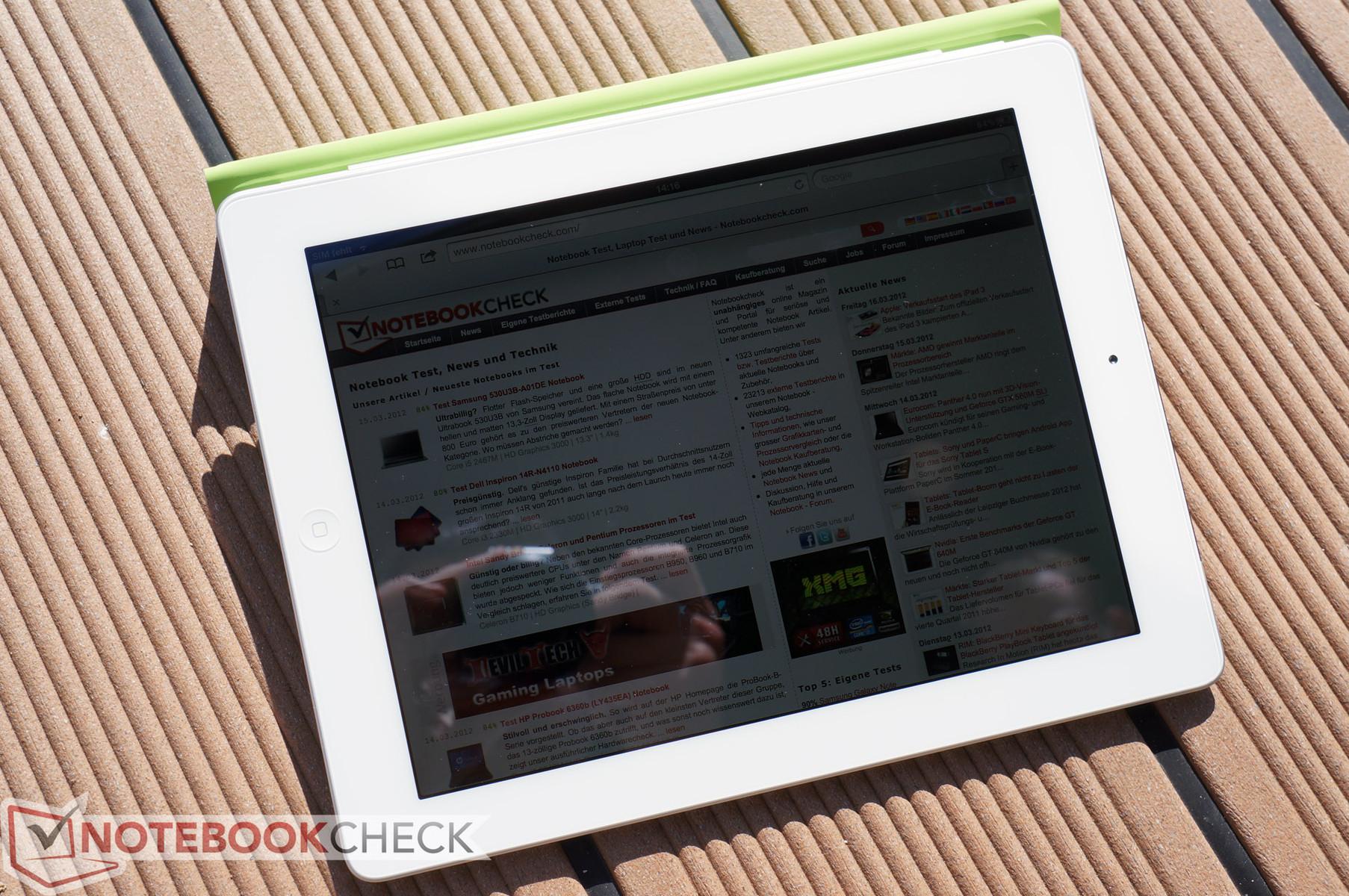 Review Apple iPad 3rd Gen  2012 4G Tablet - NotebookCheck net Reviews