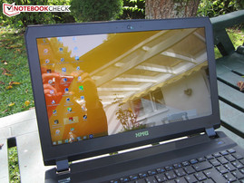 Outdoor use Schenker XMG P505