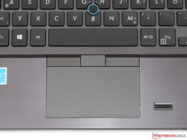 Touchpad/Trackpoint