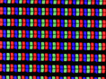 RGB Pixel structure
