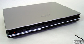 Toshiba Qosmio F30 Interfaces