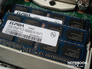Two 2048 MByte DDR3 RAM already occupy both available RAM slots