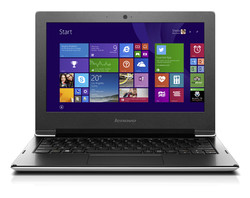 In review: Lenovo S21e-20 80M4004MGE. Test model provided by Cyberport.de