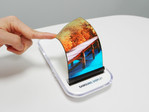 Foldable touchscreen display prototype by Samsung, consumer products coming in 2018