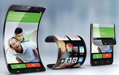 Samsung foldable phone concept, Apple foldable phone in the works, coming in 2020