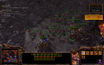 Undemanding games can look relatively smooth, but twitch-based games like Starcraft 2 will suffer from cursor latency. The lag becomes much worse if two displays are active simultaneously