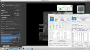 Cinebench R15 (Multi-Test on battery)