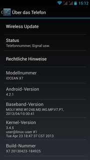 Android system information