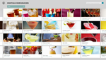 Screenshot of the recipe app
