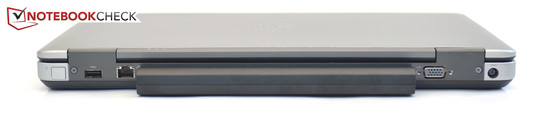 Back: USB 3.0, Gigabit-LAN, VGA, Power