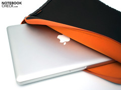 The Notebook Sleeve is a very simple but secure solution.