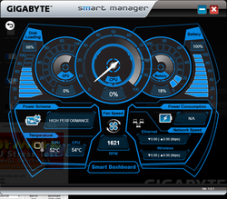 SmartManager gives a quick glimpse at system vitals