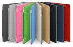 Apple: Smartcover, available in 10 different colors, optionally PU or leather
