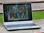 Outdoor use of the Acer Aspire V5-122P