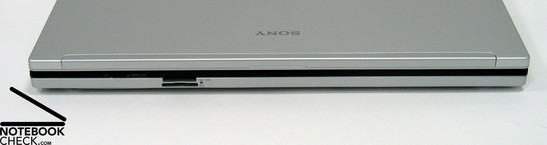 Sony Vaio FZ21E Interfaces