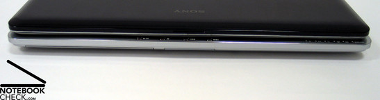 Sony Vaio VGN-CR21S Interfaces