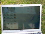 Sony Vaio VGN-SR41M/S outdoors