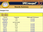 SPECViewperf results