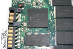 Intel X25-M 80 GB Chips