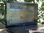Works well under the open sky: Sony Vaio SVE17