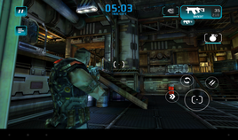 Shadowgun Deadzone loaded without problems, but quickly became unplayable