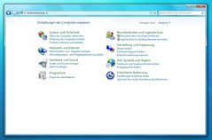 The system control on Windows 7 is more the most part evocative of Vista