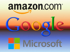Amazon, Google, and Microsoft seeing great Q3 2015 financial figures