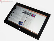 The Taichi 31 can conveniently be used as a tablet via the touchscreen