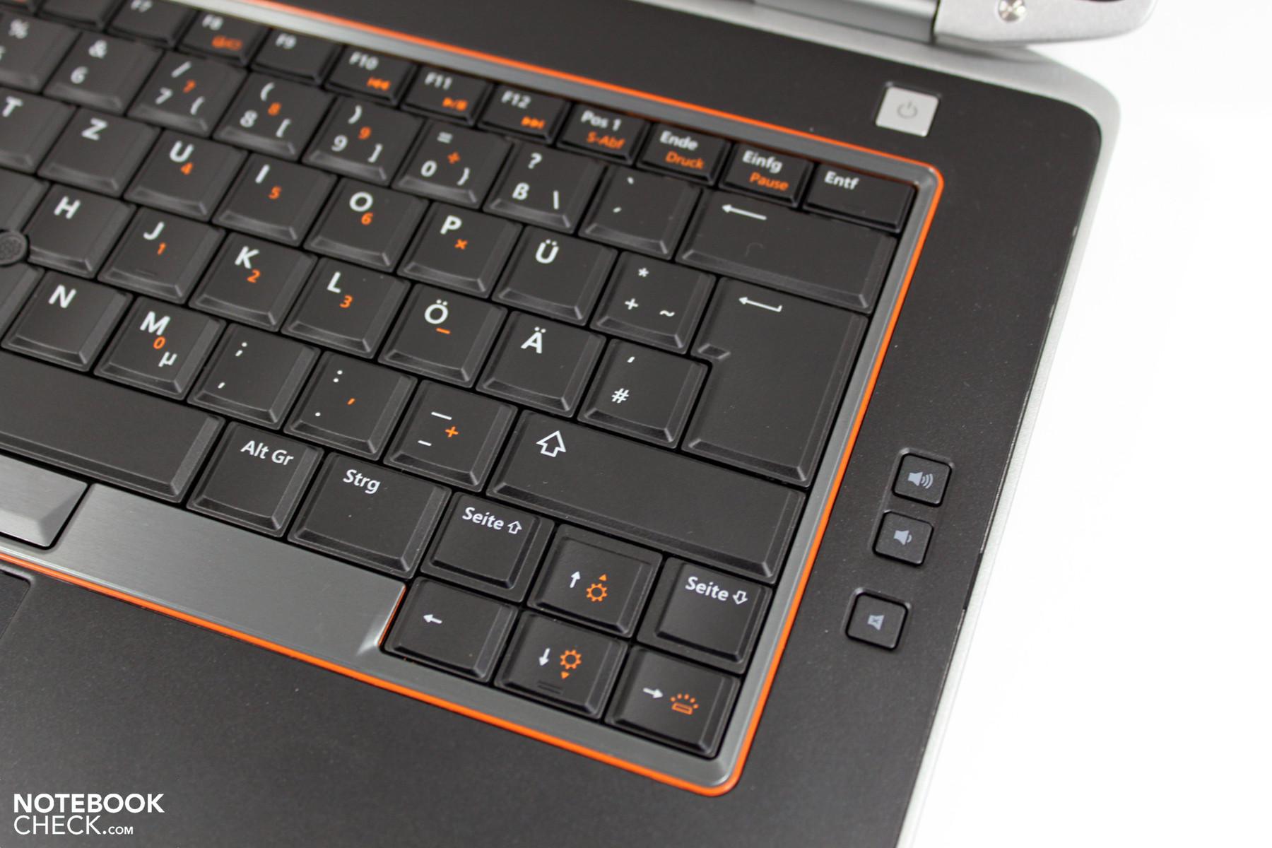 keyboard e6420